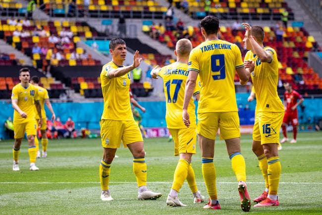 Euro 2021 : L'Ukraine domine la Macédoine du Nord