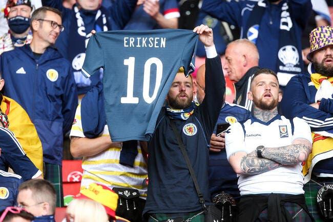 Euro 2021 : Eriksen va quitter l'hôpital