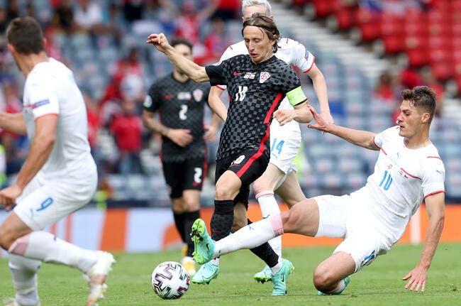 Euro 2021 : Malgré Schick, la Croatie reste en vie