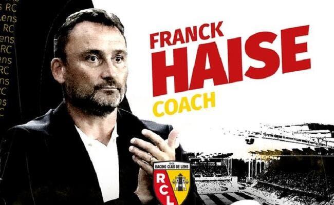 Officiel : Franck Haise prolonge à Lens