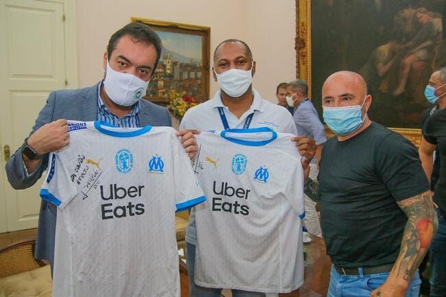 OM : Sampaoli est au Brésil, objectif David Luiz