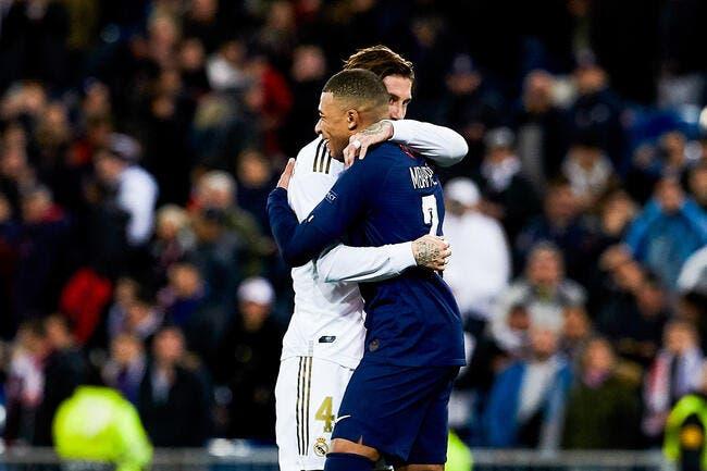 PSG : Sergio Ramos après Zidane, c'est trop pour Mbappé