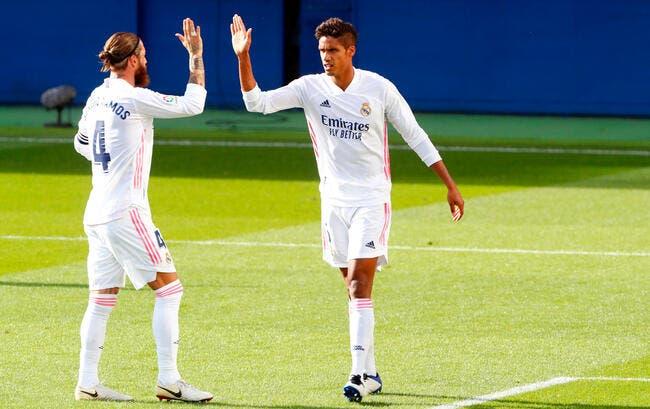 Real : Varane suit Ramos et quitte Madrid