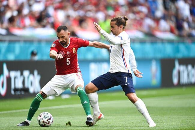 Euro 2021 : La France coincée en Hongrie
