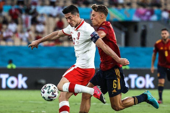 Euro 2021 : Lewandowski contrarie l'Espagne