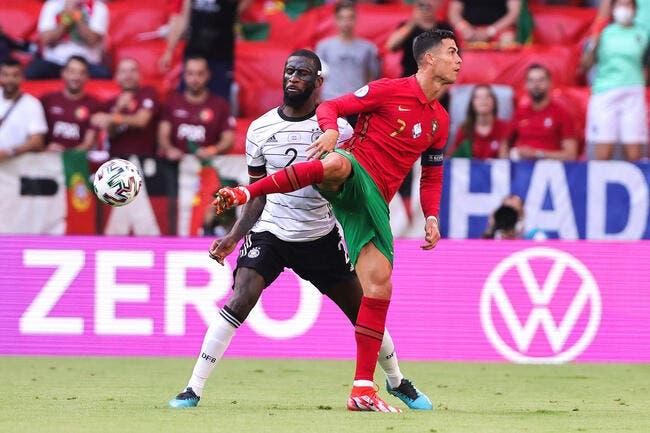 Euro : Cristiano Ronaldo a fait perdre le Portugal contre l'Allemagne