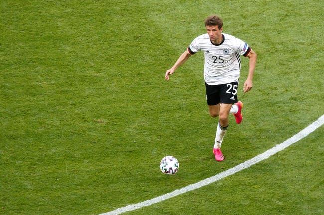Euro : Thomas Muller touché et absent deux matchs ?