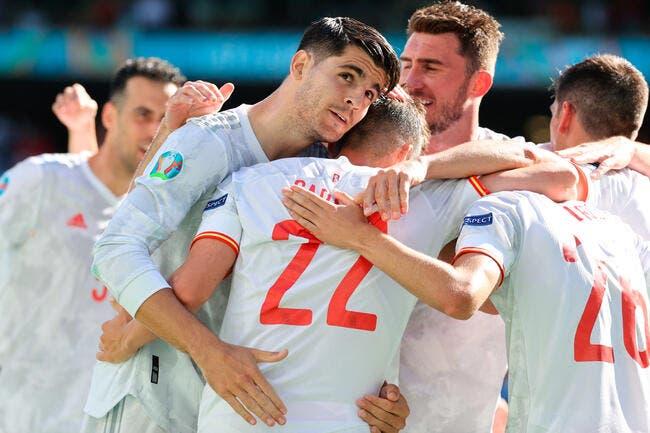 Euro :5-0, l'Espagne prend rendez-vous avec la Croatie