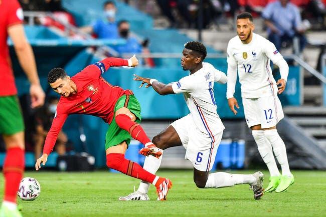 Euro : Benzema et Cristiano Ronaldo font le show, la France jouera la Suisse en 1/8e
