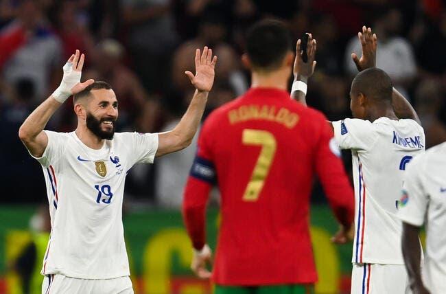 EdF : Aulas en extase devant Karim Benzema