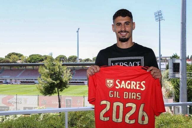 Officiel : Monaco lâche Gil Dias au Benfica