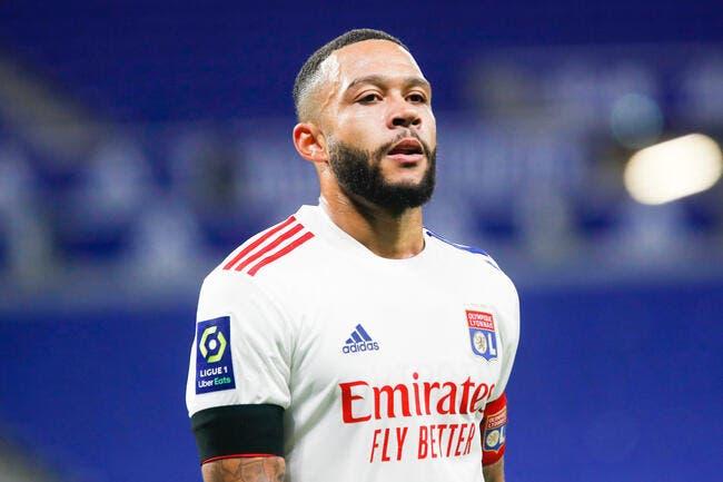 OL: Memphis Depay a un dernier message pour Lyon