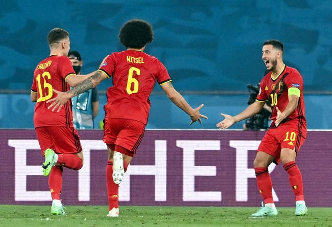 Euro 2021 : La Belgique gagne, mais perd De Bruyne et Hazard