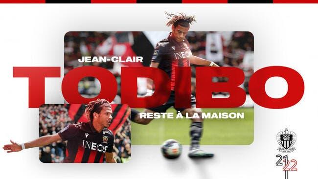 Officiel : Jean-Clair Todibo signe à Nice