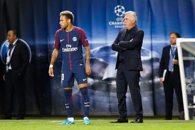 Esp : Neymar ne fraude plus le fisc, Ancelotti le remplace !