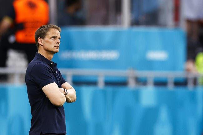 Euro : Frank De Boer viré par les Pays-Bas