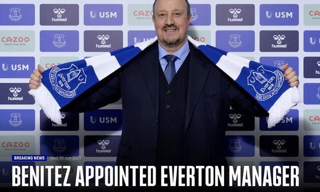 Ang : Rafael Benitez nommé entraîneur d'Everton