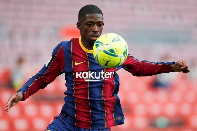 Esp : Barcelone perd 50ME à cause d'Ousmane Dembélé