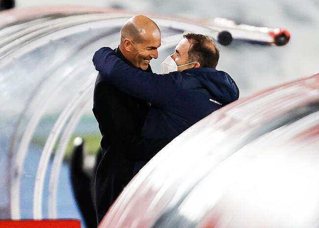 Esp : Une année de plus au Real, la surprise Zidane