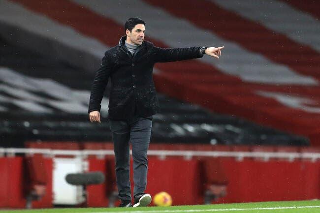 Esp: Non au Barça, Arteta a assez de problèmes à Arsenal