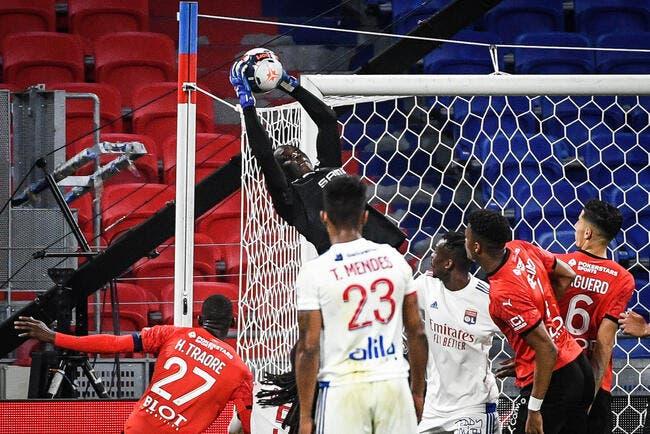 OL - Rennes :  1-0