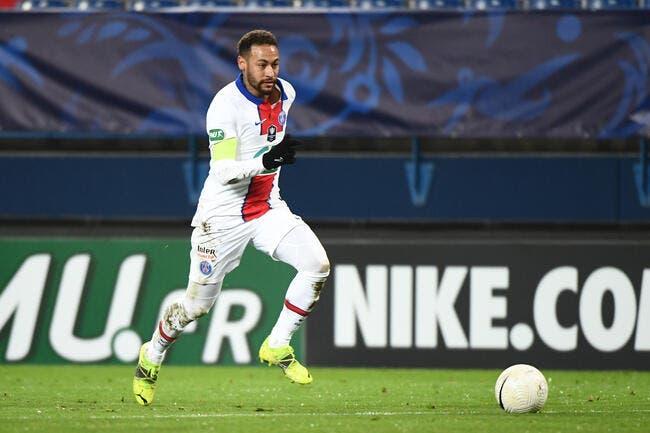 PSG : Neymar forfait (aussi) contre Barcelone