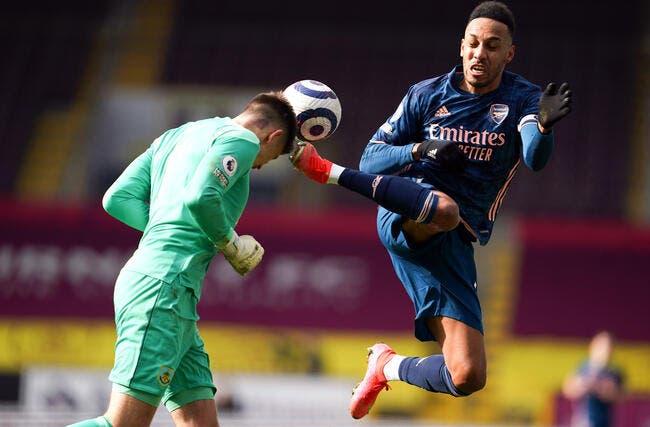 Ang : Arsenal perd deux points à Burnley