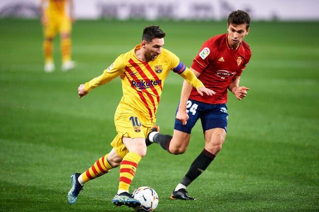 Esp : Lionel Messi martyrisé, le Barça scandalisé