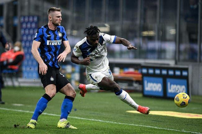 Ita : L'Inter bat l'Atalanta et aperçoit le titre