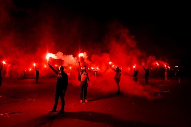 PSG-Barça : Les supporters en feu, jusqu'au couvre-feu