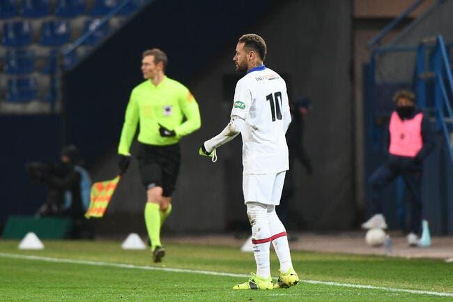 PSG : Neymar privé de Barça, sa réaction