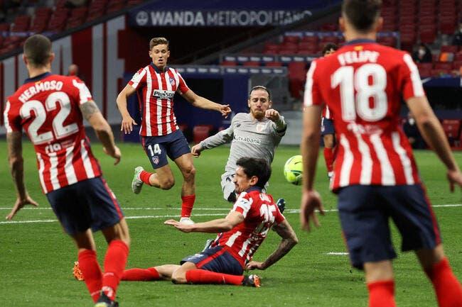 Esp : L'Atlético Madrid reprend ses aises