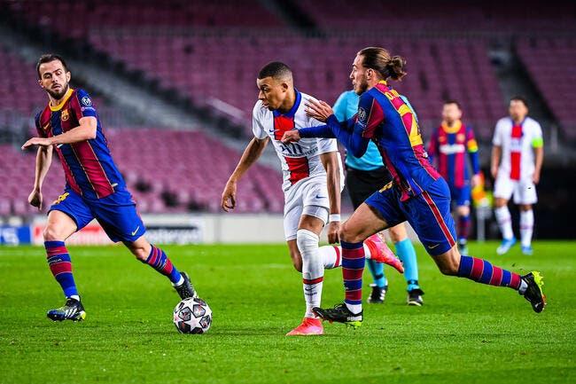 PSG - FC Barcelone : Les compositions (21h sur RMC)
