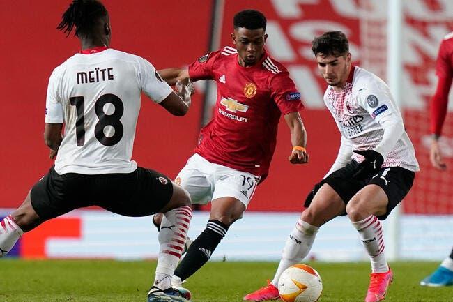 EL : L'AC Milan joue un mauvais tour à Manchester United