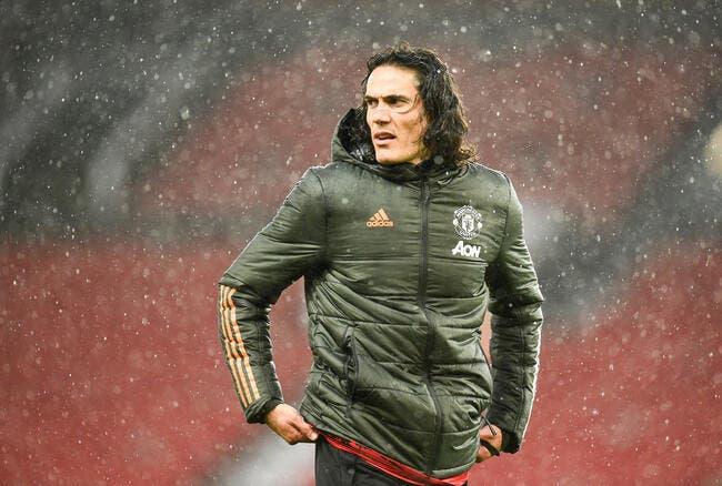 Ang: Manchester United a du mal avec les caprices de Cavani