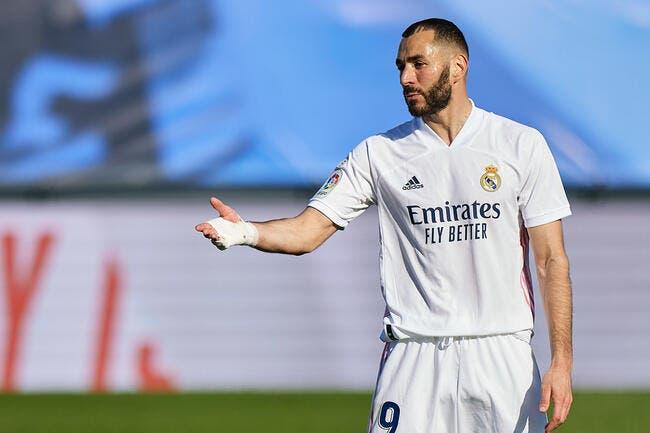 Esp : Benzema, la F1 qui pousse le Real Madrid au sommet