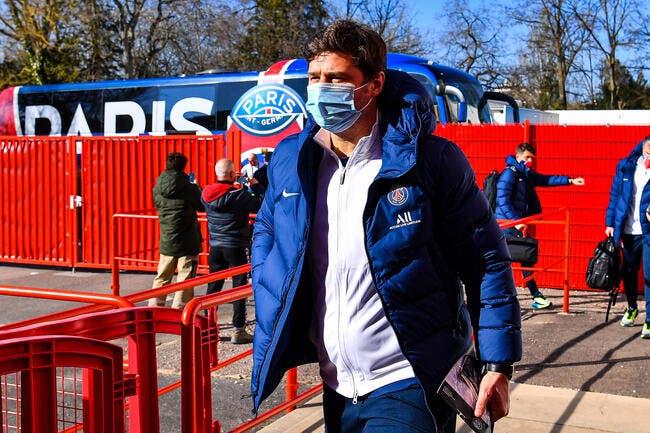 PSG : Pochettino imite Tuchel et se blesse à l'entraînement