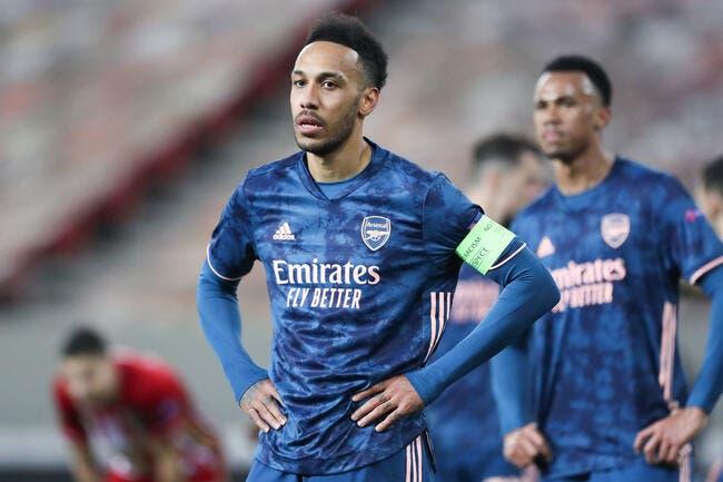 Arsenal : Sanction disciplinaire pour Aubameyang