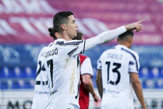 Serie A : Cristiano Ronaldo claque son triplé