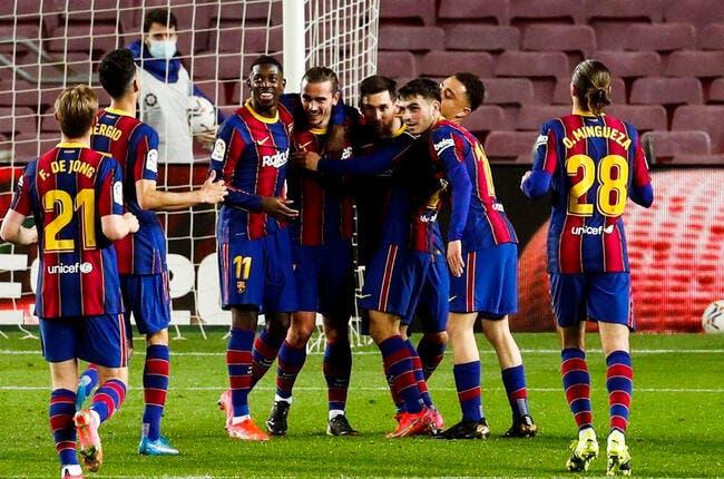 Esp : Le Barça sauce Messi revient à 4 pts de l'Atlético
