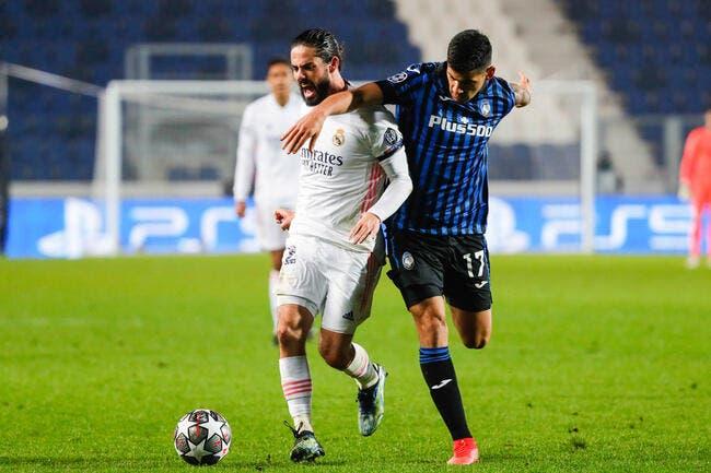 LdC : Real Madrid - Atalanta : les compos (21h00 sur RMC Sport 1)