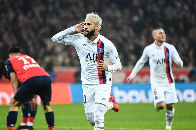 PSG : Neymar forfait contre Lille