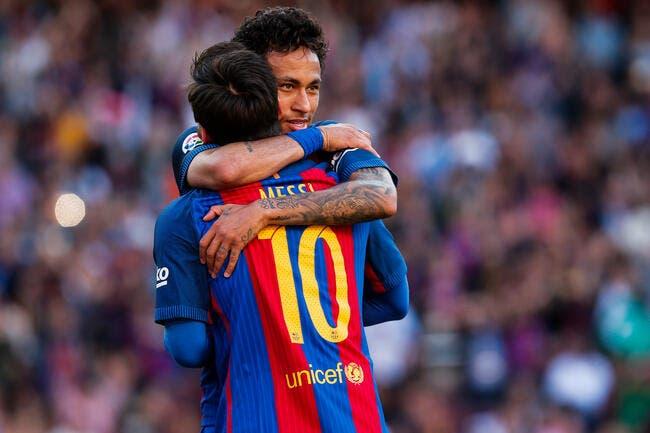 PSG: Neymar et Messi réunis à Barcelone, un agent s'enflamme