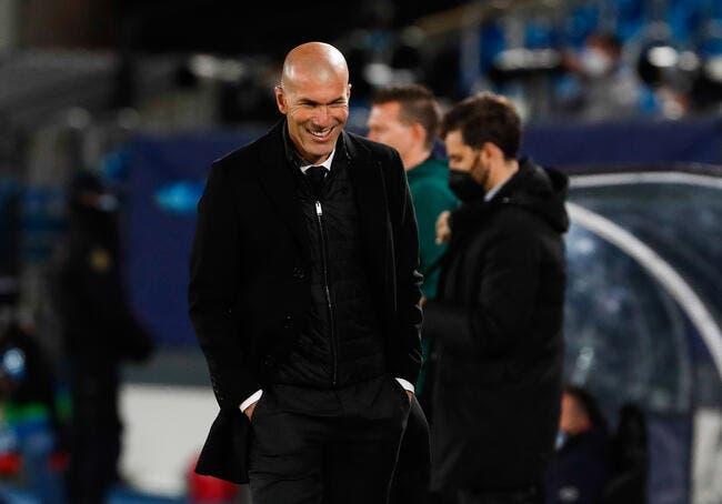 Real Madrid :  Zidane connaît la dure réalité