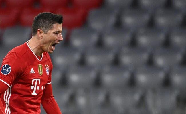 All : Le Bayern et Lewandowski alertent le PSG