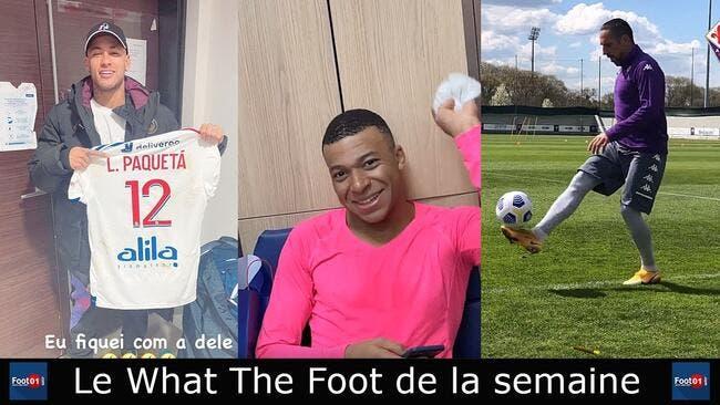 WTF : Neymar fan de Paqueta, Mbappé a froid, Cazarre en feu