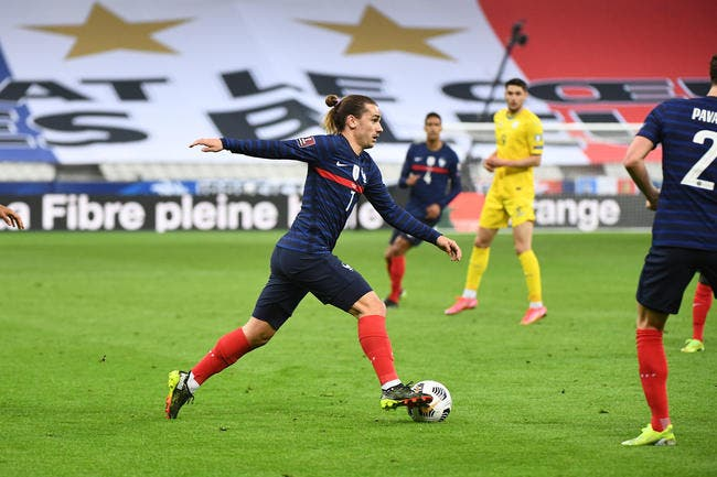 France : Griezmann rejoint Trezeguet avec 34 buts