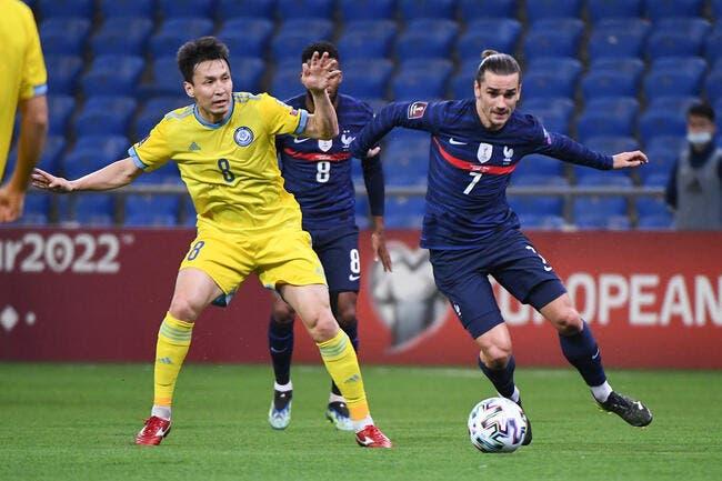 La France assure l'essentiel contre le Kazakhstan