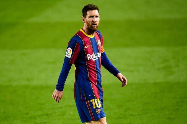 Lionel Messi, une troublante rumeur l'éloigne du PSG