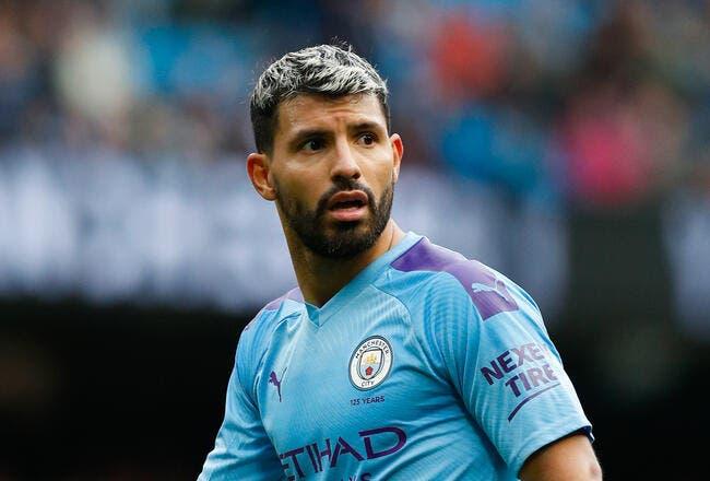 Ang : Man City officialise le départ de Sergio Aguero